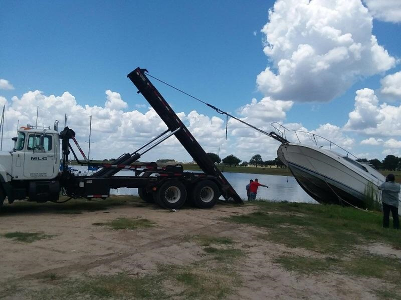 Boat Removal - Disposal - Recycling - Transportation - salvage tow - OK.