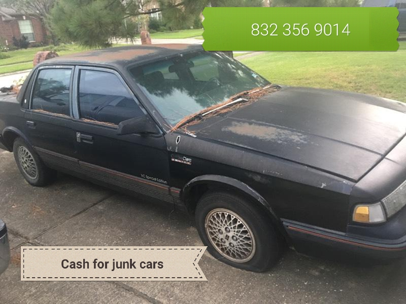 Junk Car Buyers in Houston TX