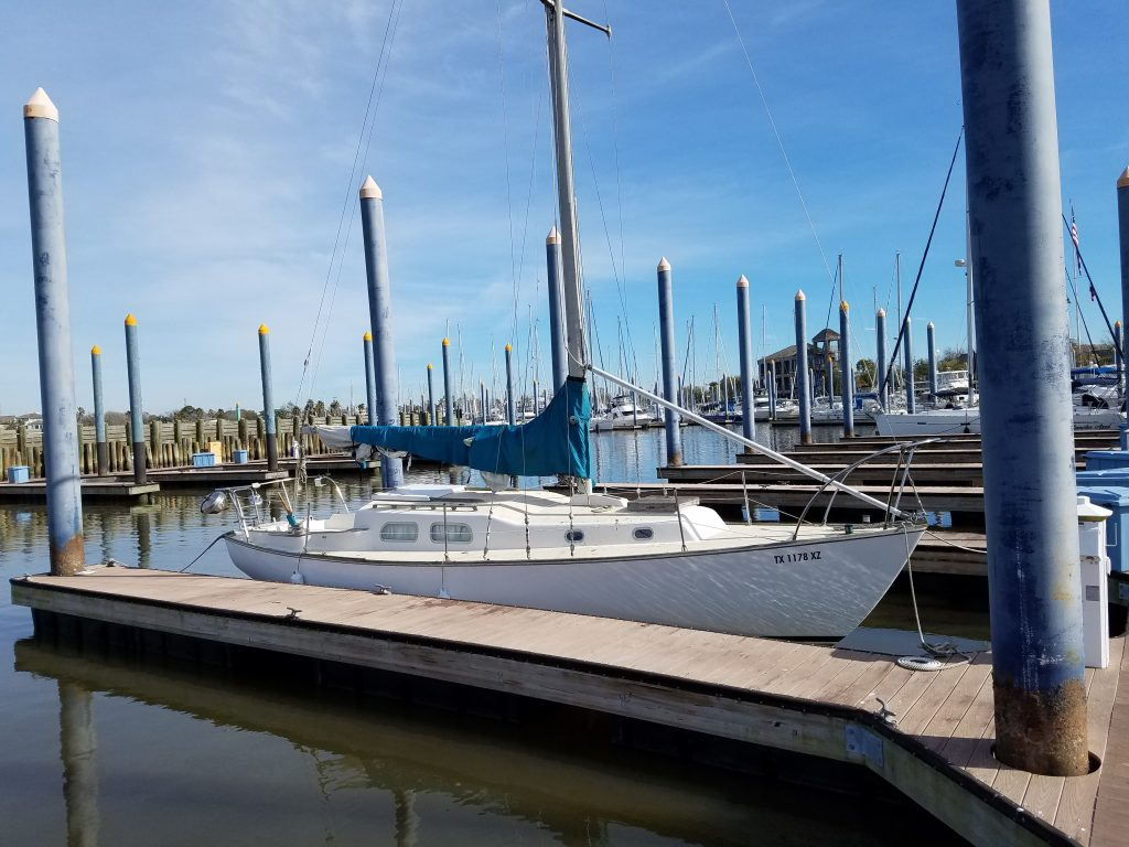 sail boat removal