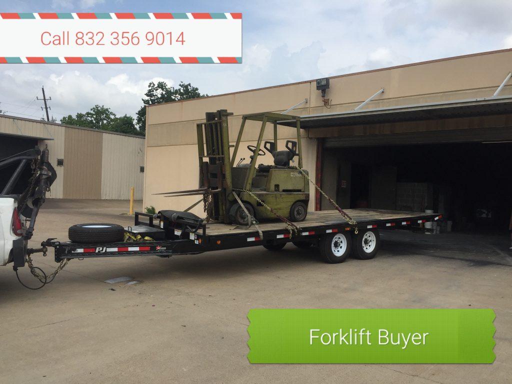 Salvage Forklift Buyer Houston TX