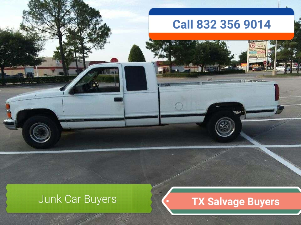 Houston TX Junk Car buyers