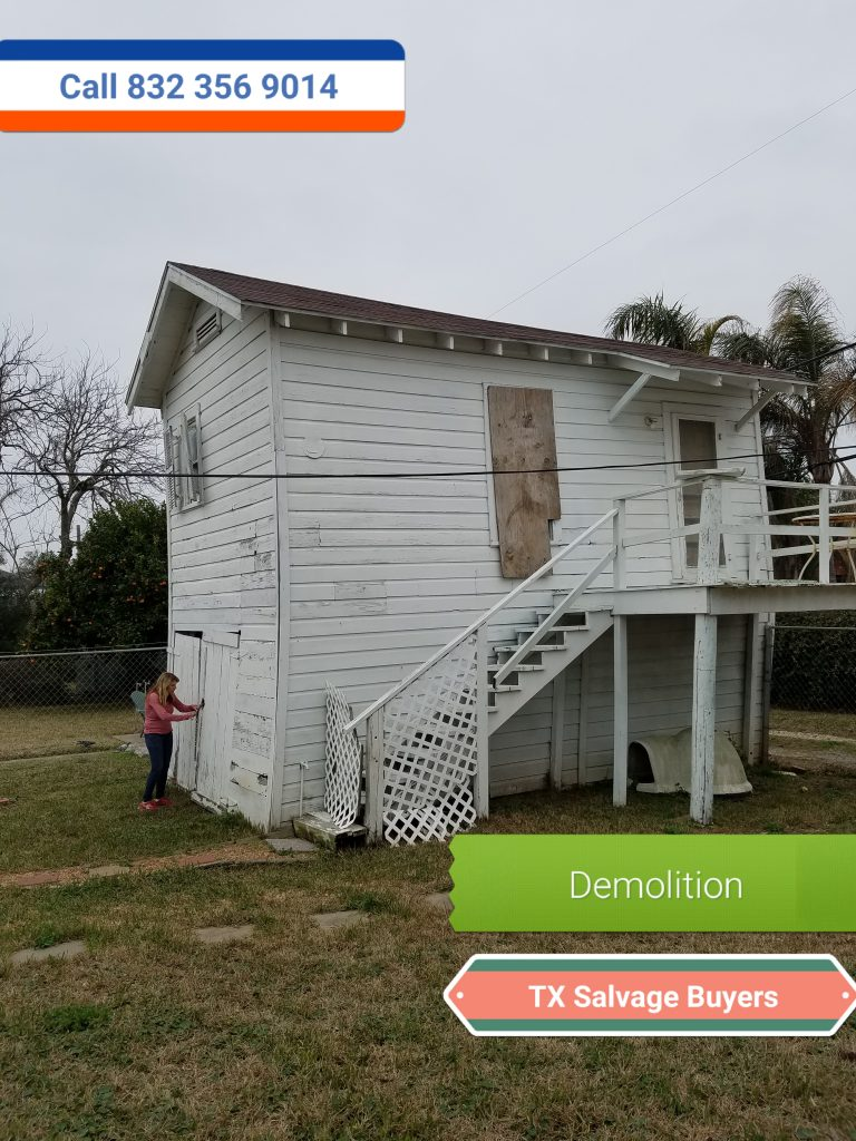 House demolition starting @ $2,500 dollars