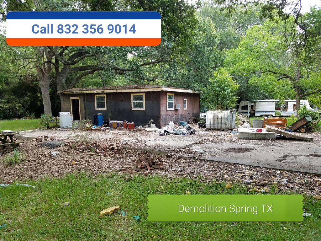 Demolition Service Humble TX