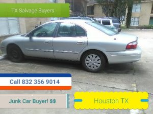 Junk car removal Houston TX