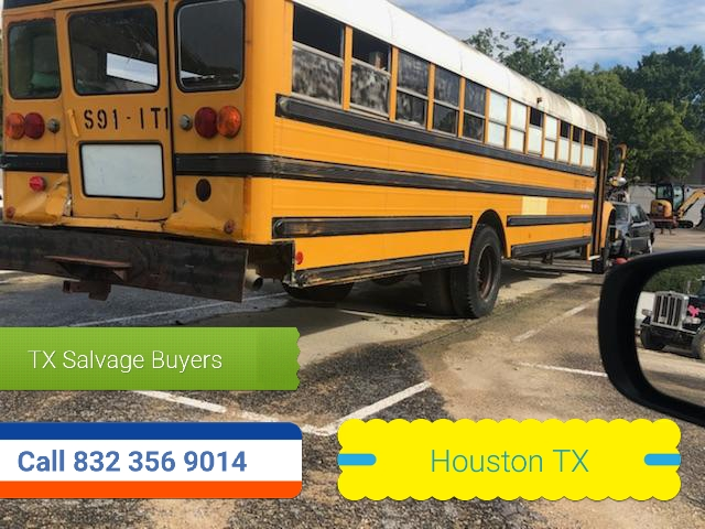 Salvage Bus Buyers