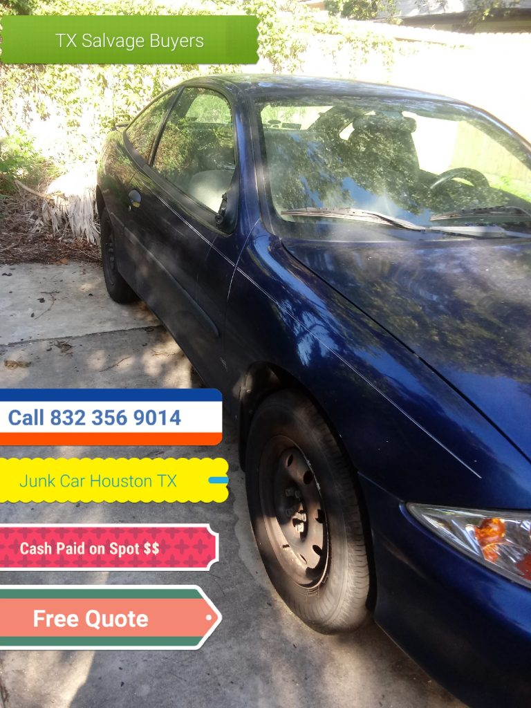 Junk car Salvage Buyers Houston TX