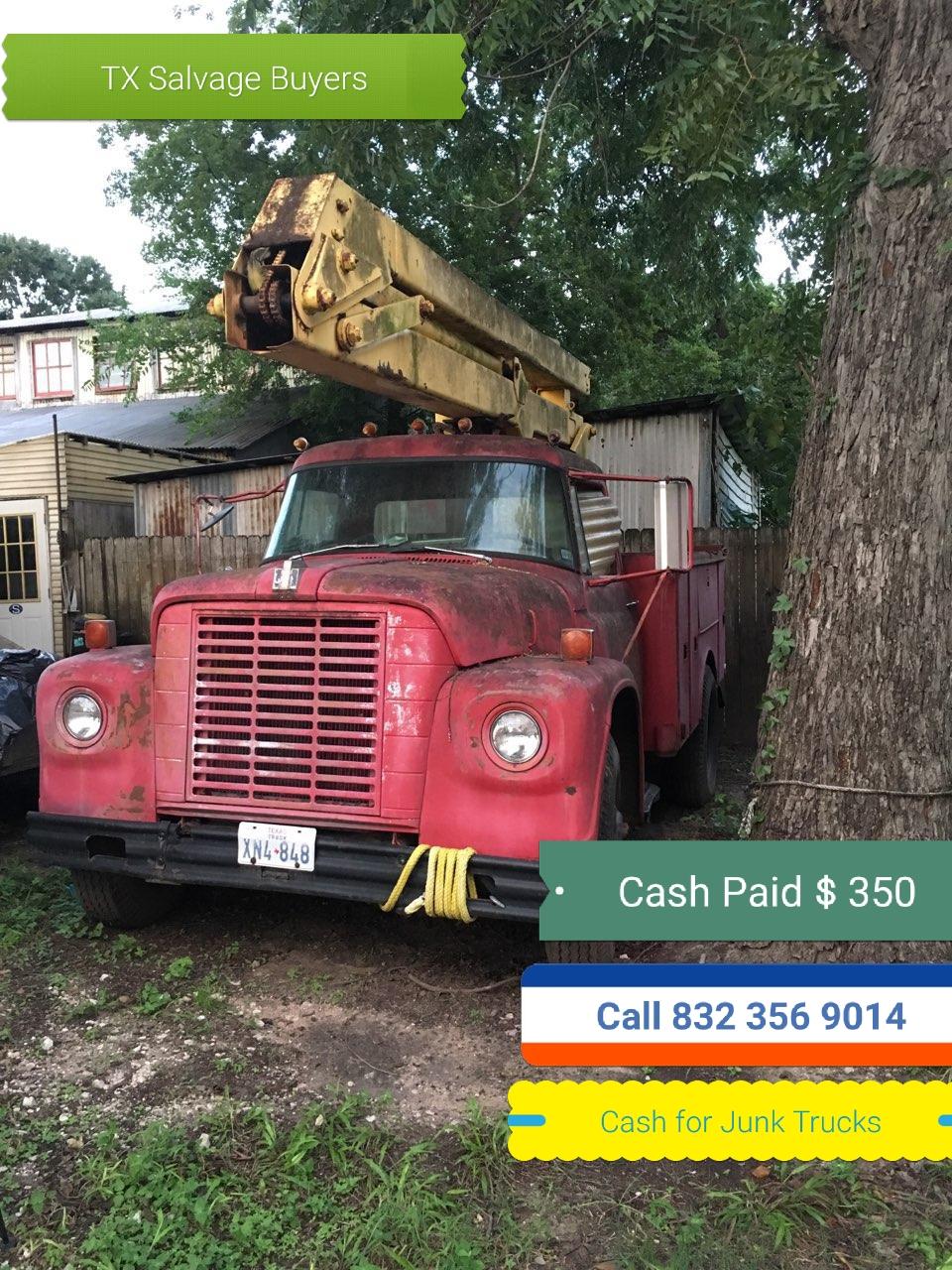 Junk car buyer Houston TX
