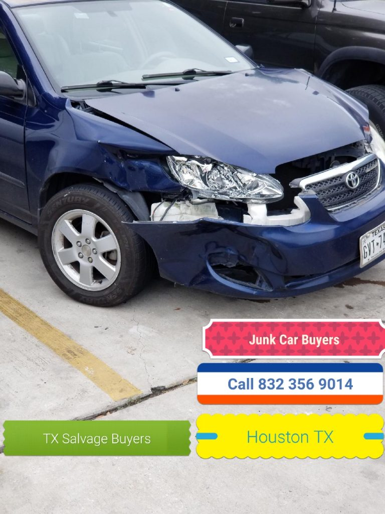 Who Buys salvage Junk cars in Houston TX