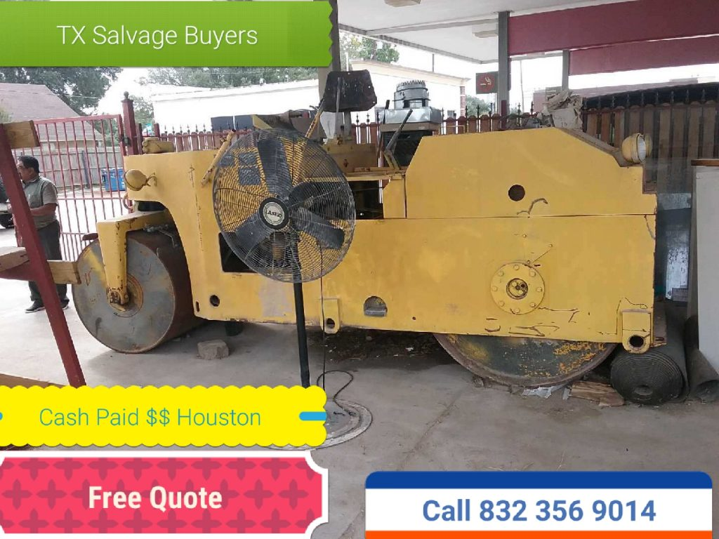 HEAVY EQUIPMENT SALVAGE BUYER