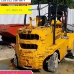 Salvage Forklift Buyers Houston TX
