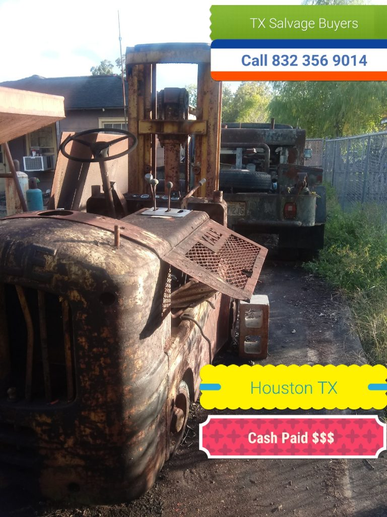large scrap metal salvage Tomball TX