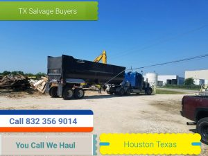 Scrap metal pickup Houston TX - You Call we haul.