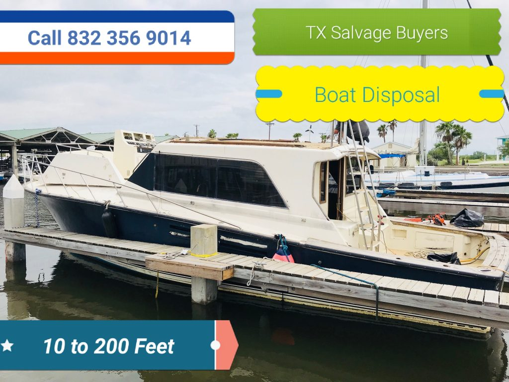 Texas Salvage and Surplus Buyers | Cash for Boats Galveston TX 832