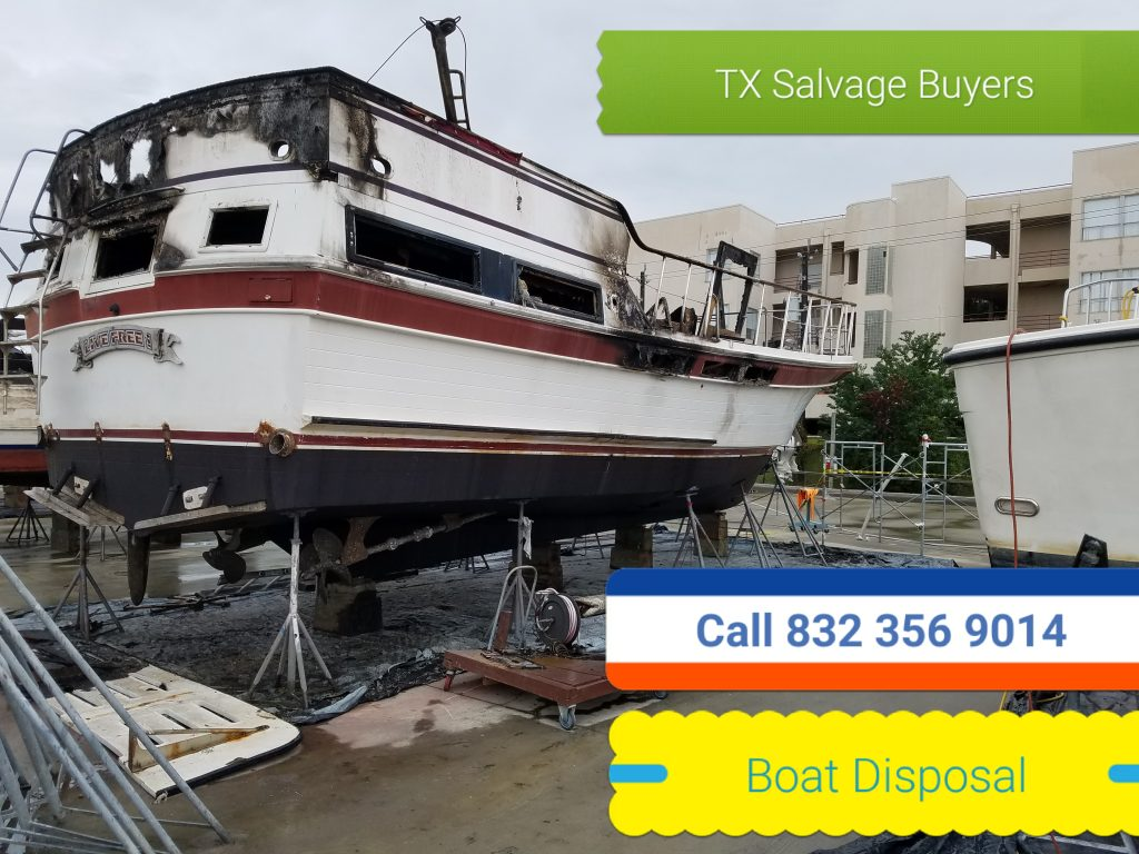 Boat removal - Boat disposal - boat mover - boat transport.