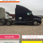 Salvage semi Truck Buyers Houston, Dallas, Fort Worth, TX