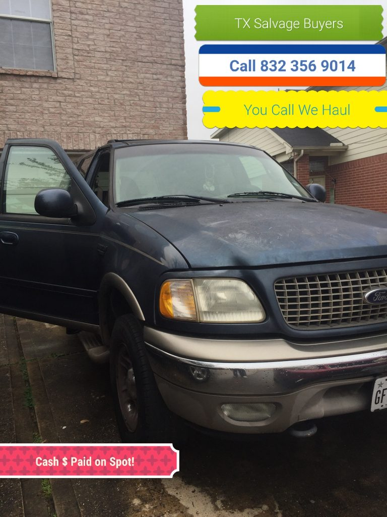 Texas City Junk Car salvage Buyer