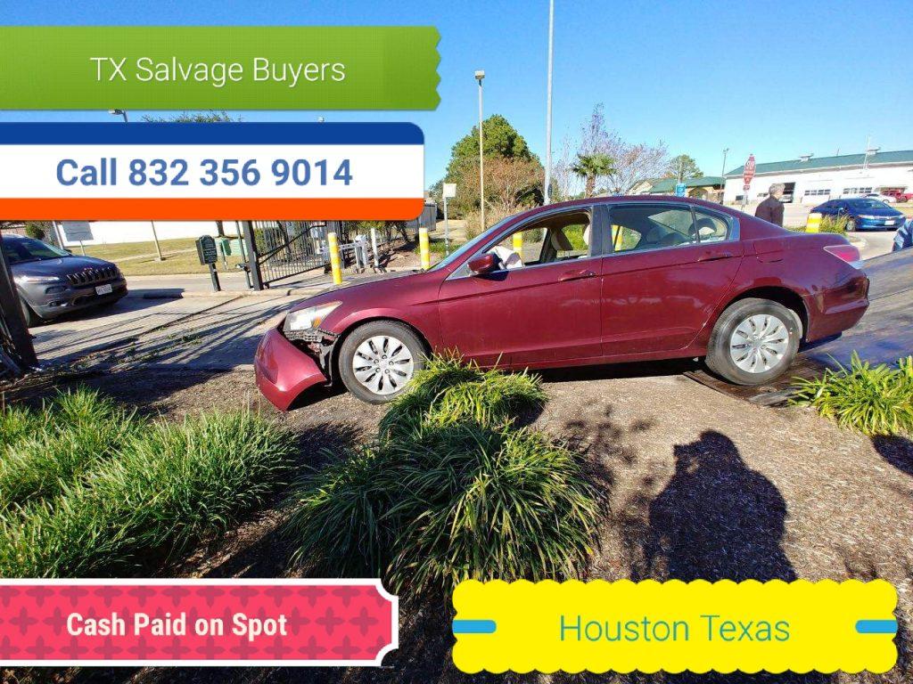 Sell Junk car Houston