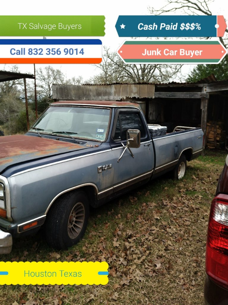 Paid $400 dollars - Junk car Houston!