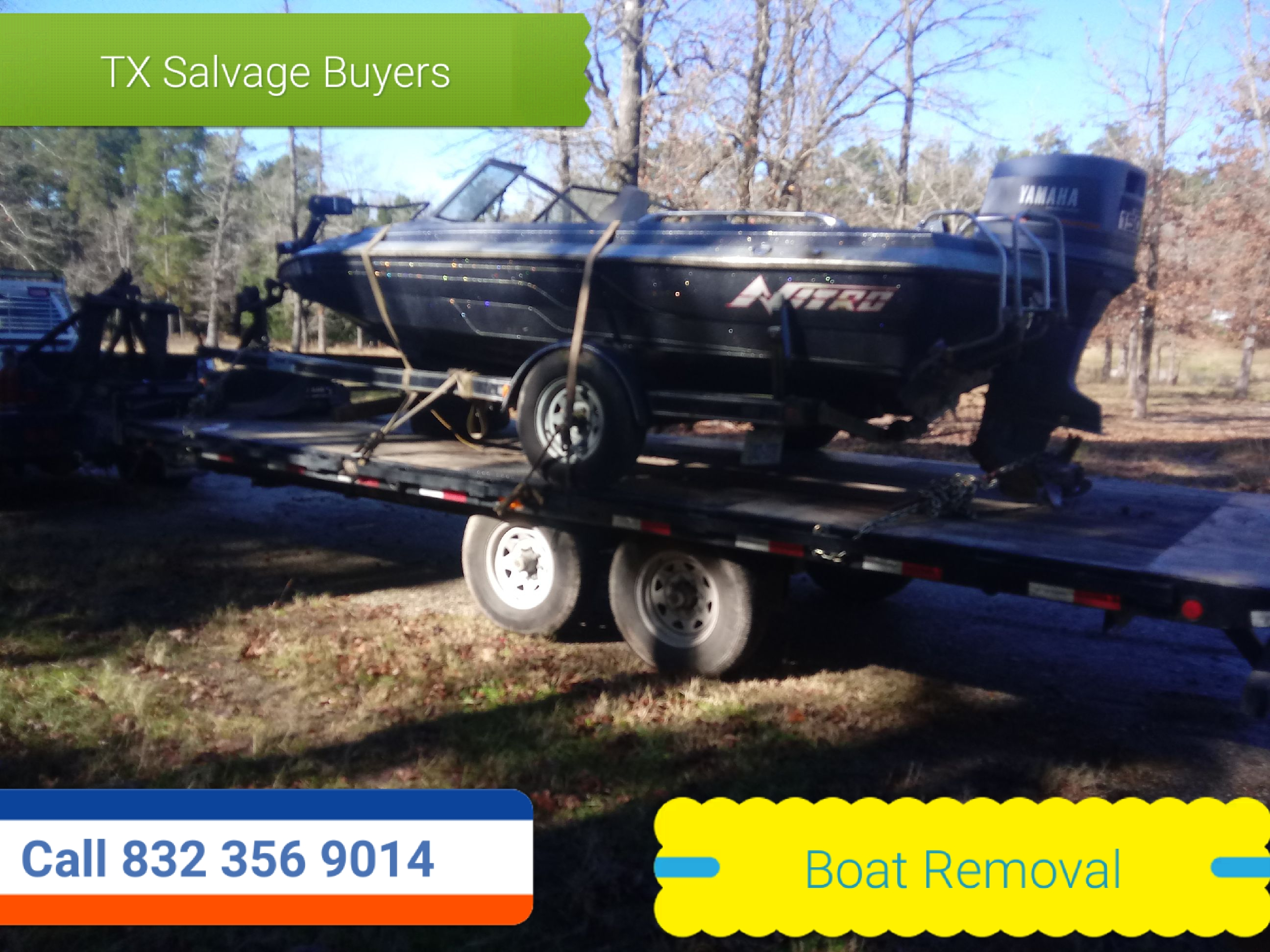 Boat Removal - Boat Disposal Austin Texas