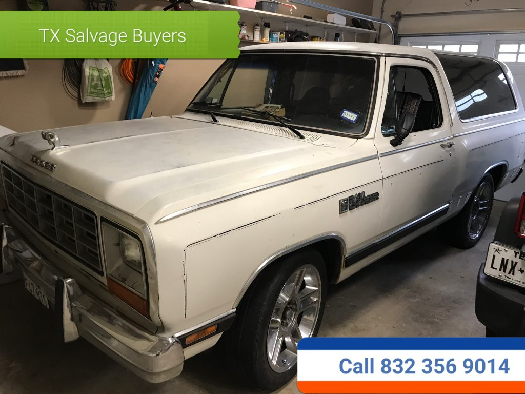 Houston TX salvage Junk Car buyers