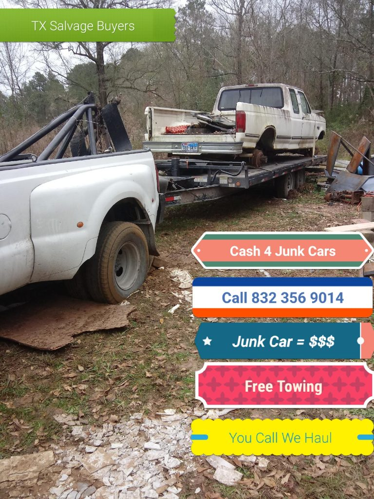 Junk car buyer for Cash Houston TX