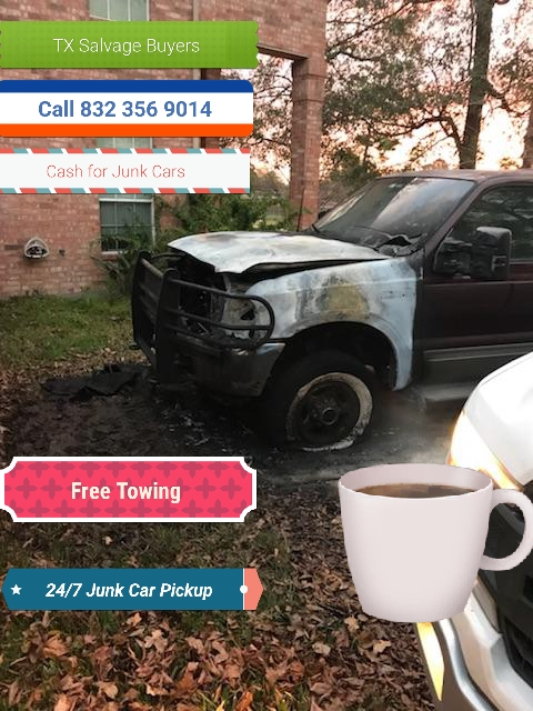 Junk car Fire Damage sell
