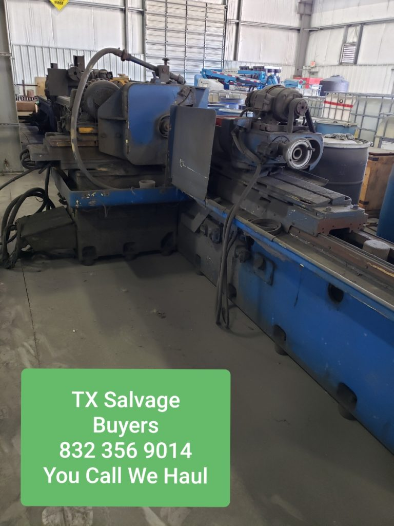 salvage equipment buyer