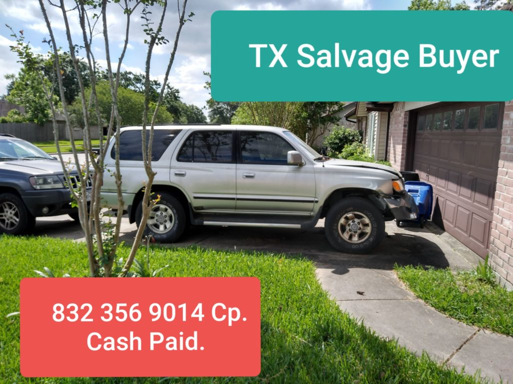 Salvage car buyers League City TX
