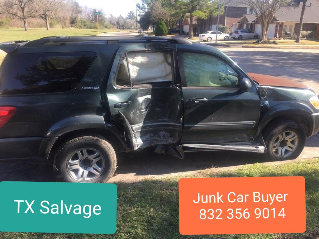 Junk Car Buyers Kingwood TX 832 356 9014