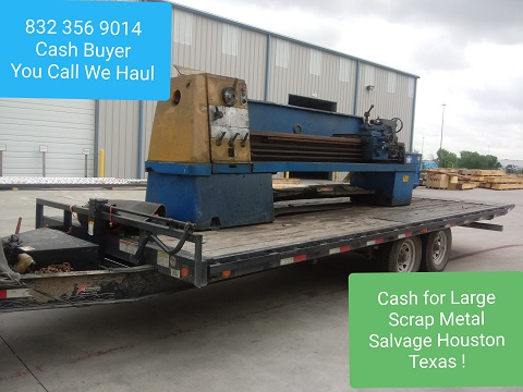 Salvage lathe Buyer