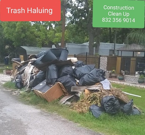 Heavy trash clean up