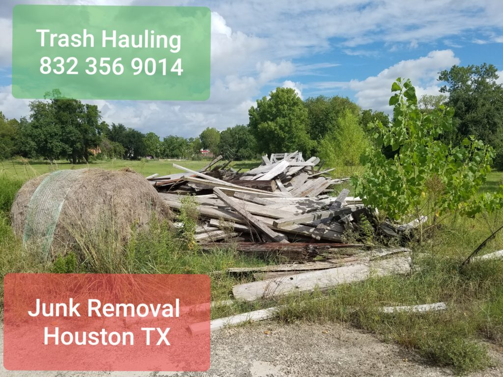 Trash hauling Cypress Texas