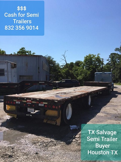 Semi Trailer buyers in Houston TX