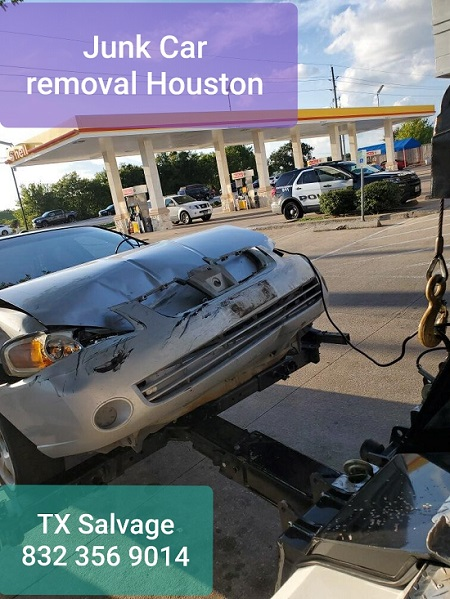 Houston Texas Junk car removal