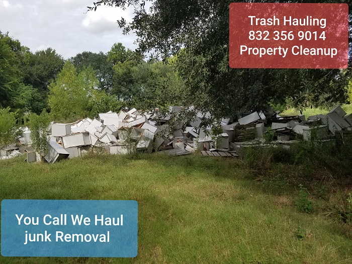 Heavy trash clean up Houston Texas