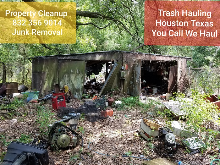 Property clean up - heavy trash Clean up Cypress TX