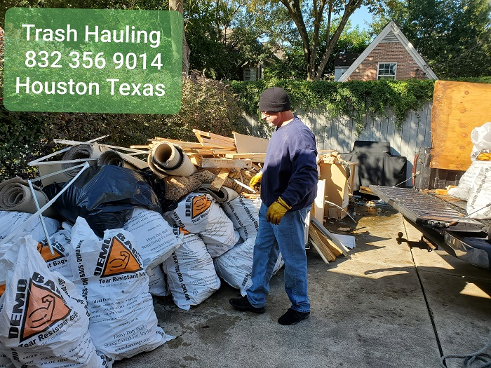 Sugar Land Texas Trash Hauling Company
