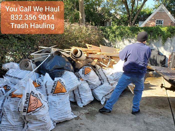 Houston Trash hauling