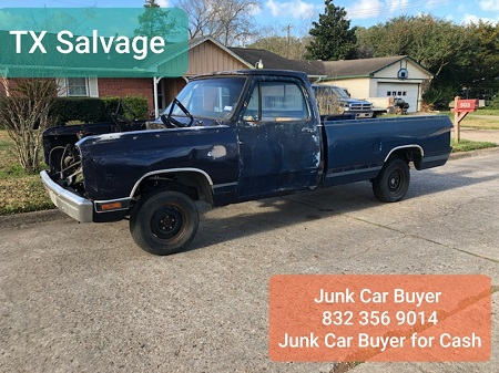 scrap metal salvage - junk car buyer