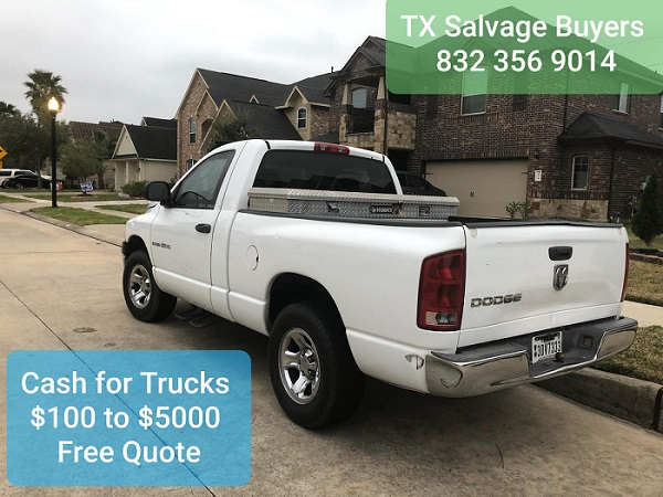 Pickup Truck Buyers Houston TX