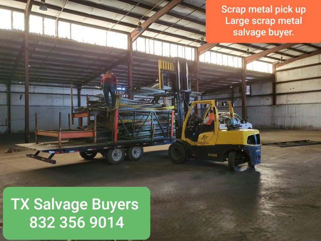 SCRAP METAL SALVAGE PICK UP