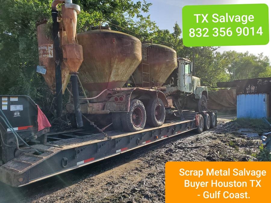 scrap metal salvage buyers Houston TX
