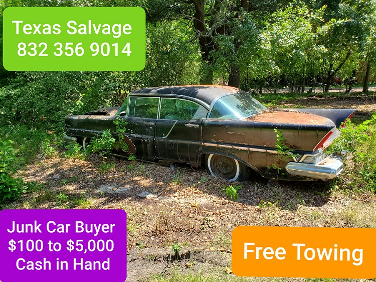 junk car pick up for cash Houston Texas