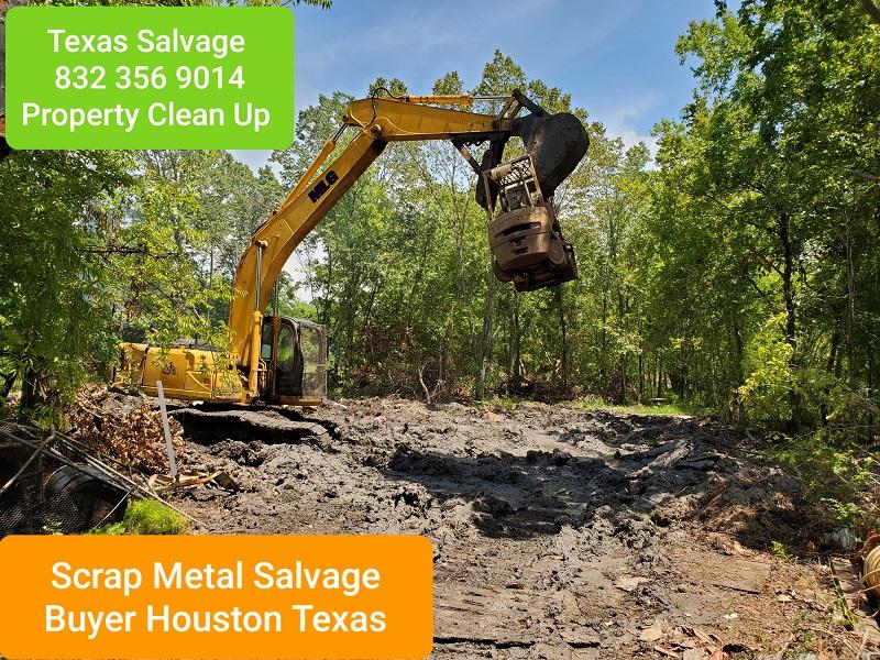 SCRAP METAL SALVAGE BUYERS HOUSTON TEXAS