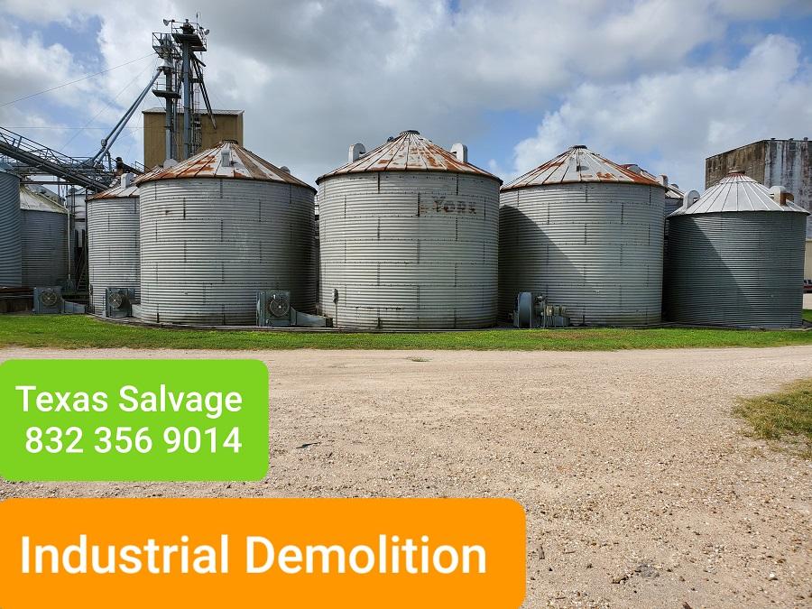 industrial demolition Houston TX