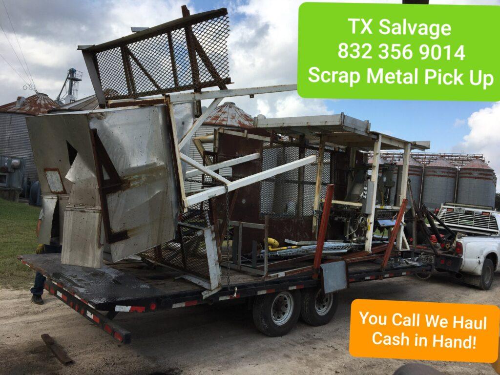 scrap metal pick up Houston