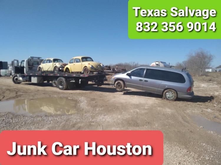 Downtown Houston Junk Car