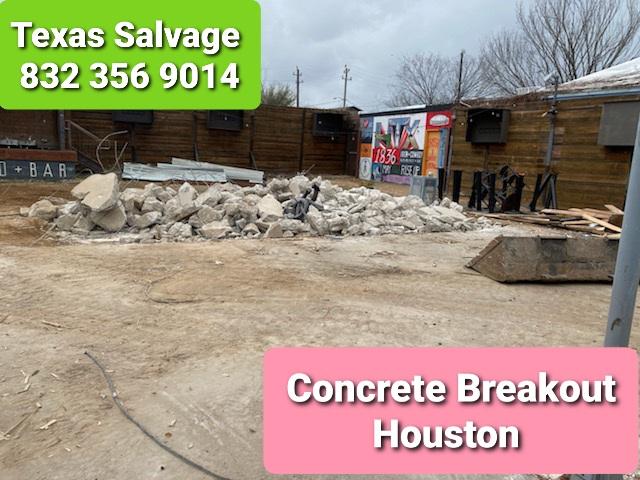 concrete demolition - concrete break out