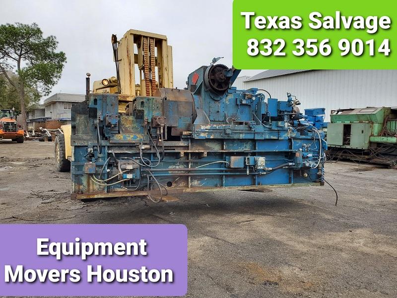 Equipment movers Houston - Machinery Movers Houston